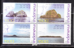Indonesia 2008 Islands Blk Of 4 MNH - Indonesia