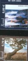 Aland 2005 Natural Aland Enviroments (Sando,Vardo  And Grondal, Geta)  2v Complete Set ** MNH - Aland