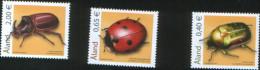 Aland 2006 Beetles (rose Chafer, Seven-spot Ladybird, Rhinoceros Beetle) 3v Complete Set ** MNH - Aland