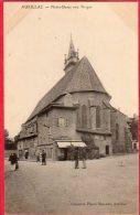 CPA 15 AURILLAC Notre Dame Aux Neiges ( Café Du Midi - Aurillac