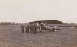 Carte Photo Aérodrome De Bleville - Groupe Weiss Mollon - Cachet Port Autonome Du Havre Service Photographique- Aviation - Other