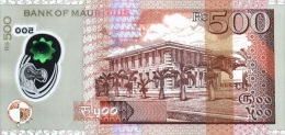 MAURITIUS P. 66a 500 R 2013 UNC - Maurice