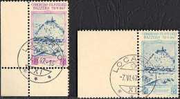 SWITZERLAND / HELVETIA / SUISSE / SVIZZERA - CONGRESSO FILATELICO SVIZZERO - LOCARNO 7-8-VI-1947 - ANNULLATI 07-08-1947 - Erinofilia