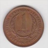 EAST CARIBBEAN TERRITORIES  1CENT  ANNO 1965 - Caraibi Orientali (Stati Dei)