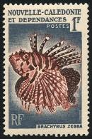 NOUV.-CALEDONIE 1959 - Yv. 291 **   Cote= 1,30 EUR - Poisson Brachyrus Zebra ..Réf.NCE22823 - Neukaledonien