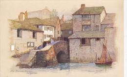 POLPERRO - THE ROMAN BRIDGE . ANNE CROFT - Inghilterra