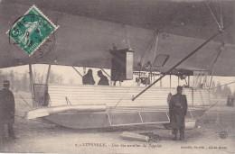 """LUNEVILLE""""une Des Nacelles Du Zeppelin""""1913""""dirigeable""""aviation"""" - Aeronaves"""