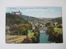 AK 1912 Österreich. Rosenburg Am Kamp, 260m Seehöhe. N.-Oe. Kampbrücke. Verlag P. Ledermann, Wien - Rosenburg