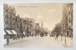 Amsterdam     ( M 1848 )        Rozengracht   En 2 Oude Trams - Amsterdam