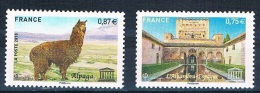 FRANCE - UNESCO - Année 2010 - Réf. 148 - 149 - Service - Neuf** - Neufs