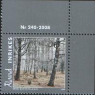 Aland 2008 Aland Scenery (Langvikshagen, Lumparland) 1v ** Complete Set MNH - Aland