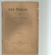 LES ORMES  étude Forestière Et Botanique  Par J. HUBERTY  1905 - Garden