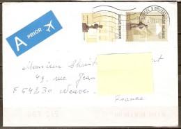 BELGIQUE    -   2004   -  Belle Lettre Pour La France. - Belgique