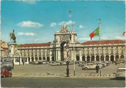 K2626 Lisboa - Praca Do Comércio - Auto Cars Voitures / Viaggiata 1967 - Lisboa
