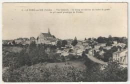 85 - LE POIRE-SUR-VIE - Vue Générale - Poiré-sur-Vie