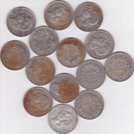 Pièces Lot X22, 14 Pièces 5 Francs LAVRILLIER 1933 (7ex), 1935 (6 Ex), 1949 (1 Ex) - France