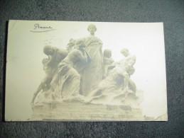 Cpa Statue Rome Roma - Non Classés