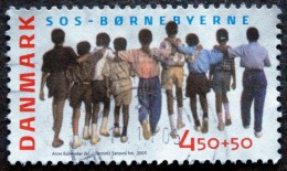 Denmark 2005   Minr.1395   (O)  SOS Children´s Villages  ( Lot L 3211 ) - Usado