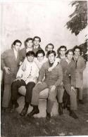 GRUPO DE HOMBRES-GROUP OF MEN-GROUPE D´HOMMES MECÁNICOS CAR MECHANICS MÉCANIQUE MECCANICA INCONNU ARGENTINA 1960 GECKO. - Industrie