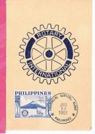 ( CM ) PHILIPPINES YT 430 Oblt 1955  MAXIMUM CARD , CARTE MAXIMUM - Philippines