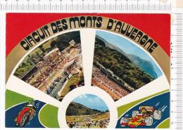 CIRCUIT  Des   MONTS   D  AUVERGNE  -   3  Vues  -   Illustrations   -   L Un Des Plus Beaux Du Monde - Grand Prix / F1