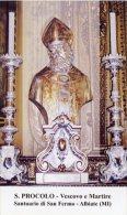 Albiate MI - Santino SAN PROCOLO Vescovo E Martire (Santuario Di San Fermo) - PERFETTO H42 - Religione & Esoterismo