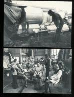 POLITIQUE - Lot de 6 cp Soutien aux grevistes d'ALSTHOM ST OUEN oct 1979 - Manifestation - GREVES
