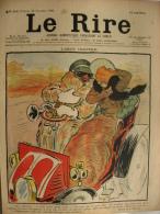Année 1900 - Illustration De Georges MEUNIER   - Ancienne Page Journal LE RIRE  -    L'AUTOMOBILE - Documenti Storici