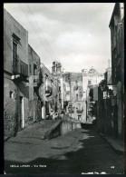 REAL PHOTO POSTCARD VIA  ROMA LIPARI SICILIA ITALY ITALIA POSTAL CARTE POSTALE - Altre Città