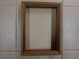 Cadre Bois---  20x15cm Dimensions Totale Vendu Sans Verre- 17x12,5cm Interieur Environ - Art Populaire