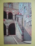 Le Palais Pretorio. L'Escalier. - Firenze