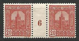 TUNISIE MILLESIME 6 N� 126 NEUF** LUXE
