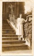 DONNA MUJER WOMAN FEMME FASHION 1920 PHOTO AMATEUR PAS ÉMIS NON CIRCULEE BELLE!! SIZE 13,5 X 8,5CM GECKO. - Mode