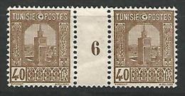 TUNISIE MILLESIME 6 N� 131 NEUF** TB