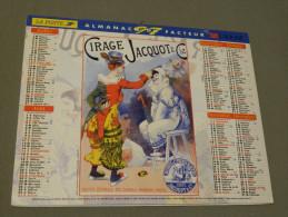 Calendrier 1997 - LAVIGNE - Affiche Ancienne - Cirage Jacquot & Cie - Pierrot - Léonard De Selva - TAPABOR - Big : 1991-00