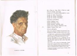 D45 LOIRET. CAMILLE ROCHE PEINTRE 1894-1948. Exposition à CHATEAUNEUF-SUR-LOIRE . Livret 8 Pages. - Biografía