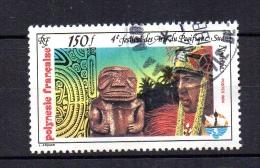 Polynésie  N° Y&T   222   Ob-   4e Festival Des Arts Du Pacifique Sud - Usati