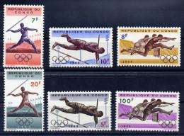 Congo Belge Série Complète JO 64 ** - Summer 1964: Tokyo