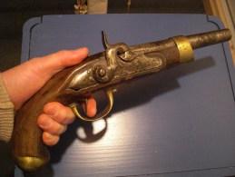 Pistolet de cavalerie 1er Empier mod�le An 13