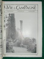 LA VIE à LA CAMPAGNE N°135 Du 1/5/1912 (liste) Oies, Piéride Du Chou, Château De PIRE, Concours Hippique, Piège Souris - Livres, BD, Revues