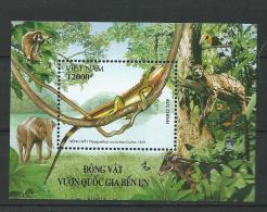 Vietnam Viet Nam   Green Water Dragon (Physignathus Cocincinus), Souvenir Sheet, MINT, 2006 - Viêt-Nam