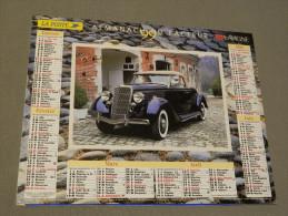 Calendrier 1999 - LAVIGNE - Delahaye 135 MS 1937 - Ford Convert 1935 - MICHEL LEROUX - Groot Formaat: 1991-00