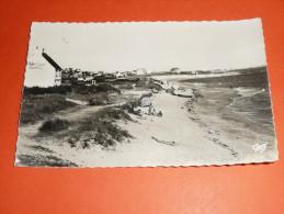 CPSM Dentelée, Carte Postale, Morbihan 56, Larmor Plage En Lorient-Plage, Animée - Larmor-Plage