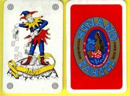 JOKER sur carte de la brasserie HINANO de Tahiti [JOCKER -Bi�re] (scann recto-verso)_d21