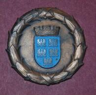 HISTORISCHE MEDAILLEN ÖSTERREICH - Niederösterreich - LANDES-CUP 1951 -Medal Sports From Austria 1951 - Tennis - Entriegelungschips Und Medaillen