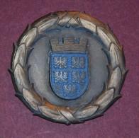 HISTORISCHE MEDAILLEN ÖSTERREICH - Niederösterreich - LANDES-CUP 1948 -Medal Sports From Austria 1948 - Tennis - Entriegelungschips Und Medaillen