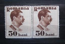Romania 1934  Mi 474,  ** MNH  Block Of 2 Stamps - Nuevos