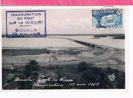 ( CM ) CAMEROUN  DOUALA  YT 147 Oblt 1955  MAXIMUM CARD , CARTE MAXIMUM - Camerun (1960-...)
