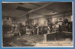 88 - PLANOIS --  Atelier De M. Etienne - Vue D'une Opartie Du Polissage - France