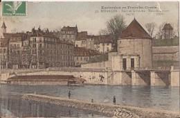 CPA TOURS DE LA PELOTE écrite  Bon état - Besancon